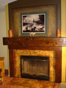 Fireplace Wall Tranformed