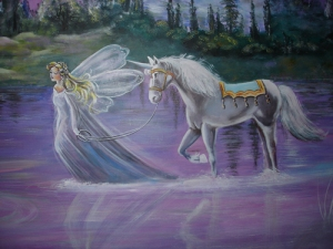 Nursery-Mural-Fairy-Enchanted-Castles-Unicorns