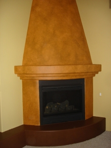 Burl-Wood-Fireplace-Wall-before